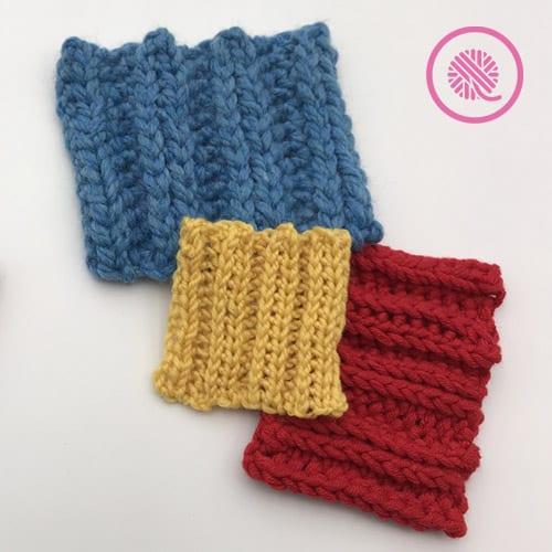 crochet 2 x 2 ribbing