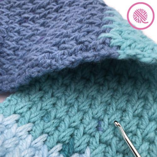 flat panel feather stitch