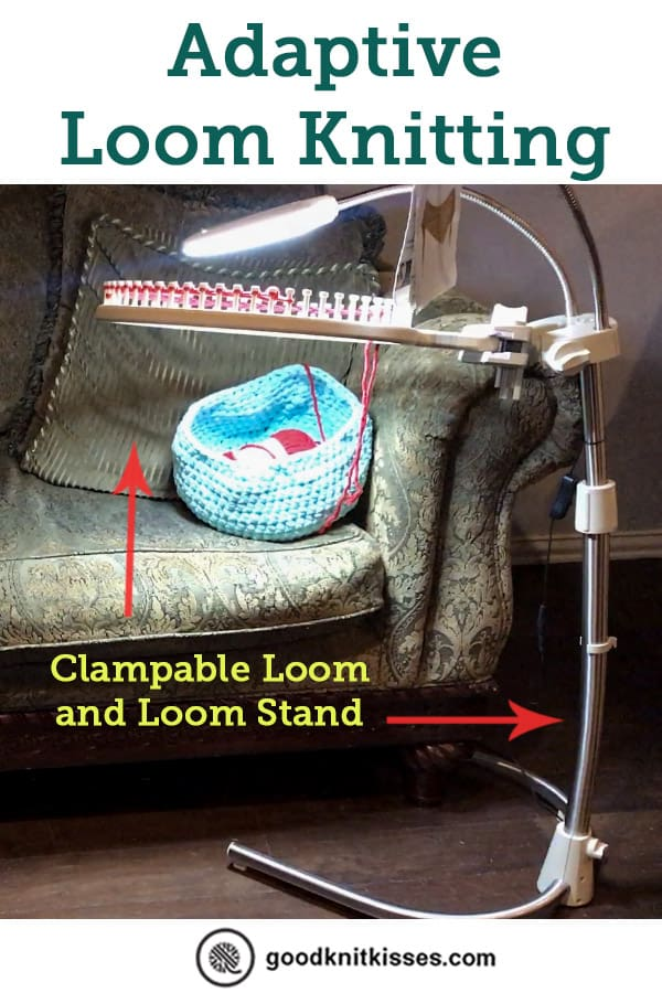 Adaptive Loom Knitting Pin Image