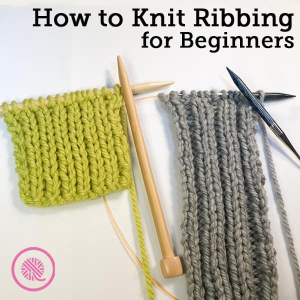 Lesson 4: How to Knit Ribbing for Beginners
