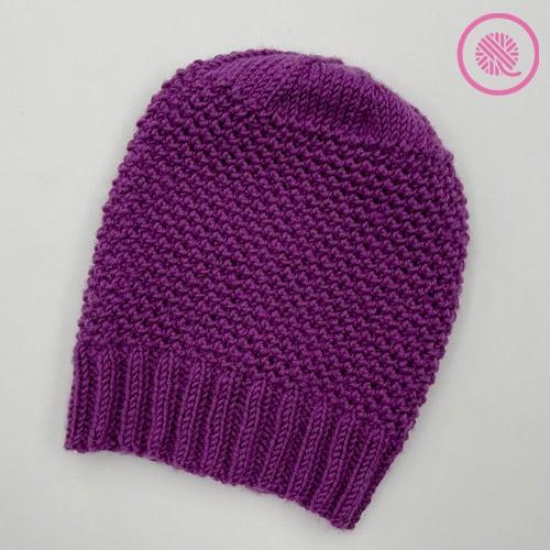 needle knit elizabeth hat