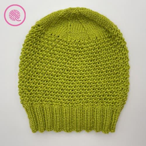 loom knit elizabeth hat