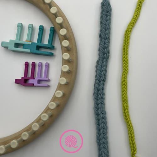 3 easy ways to make i-cords loom knit