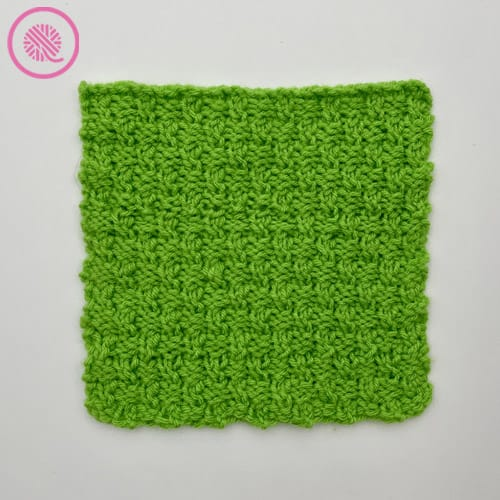 ripple twist blanket square