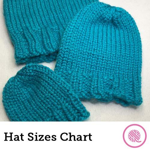 hat sizing charts