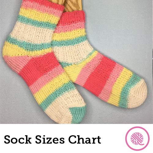 sock sizing charts