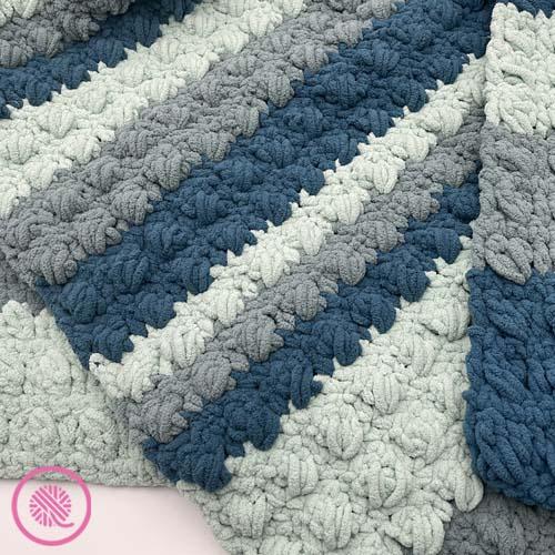 crossed cluster blanket
